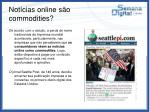 not cias online s o commodities