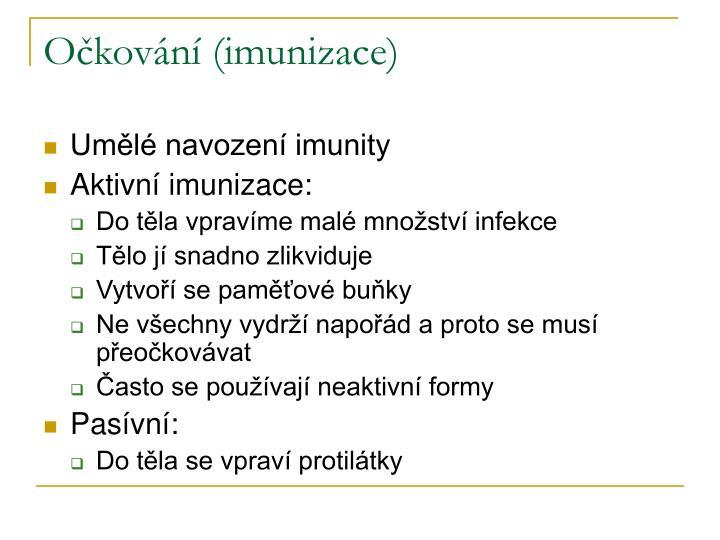 Očkování (imunizace)