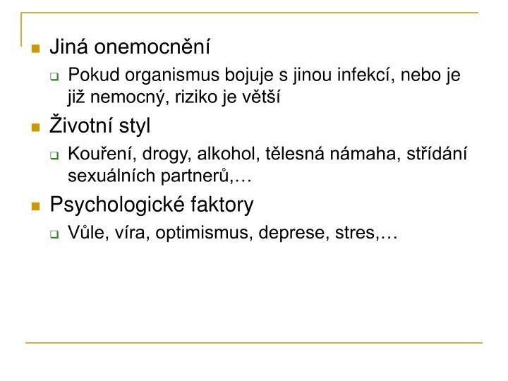 Jiná onemocnění