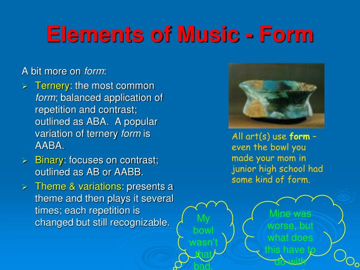 PPT - Music is the electrical soil in which the spirit lives, thinks Theme And Variations Form May Be Schematically Outlined As on