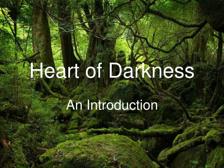 a post colonial criticism of the heart of darkness a novel by joseph conrad