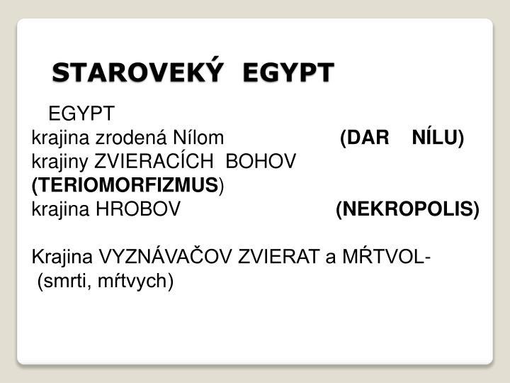 Starovek egypt1