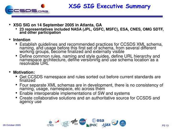 XSG SIG on 14 September 2005 in Atlanta, GA