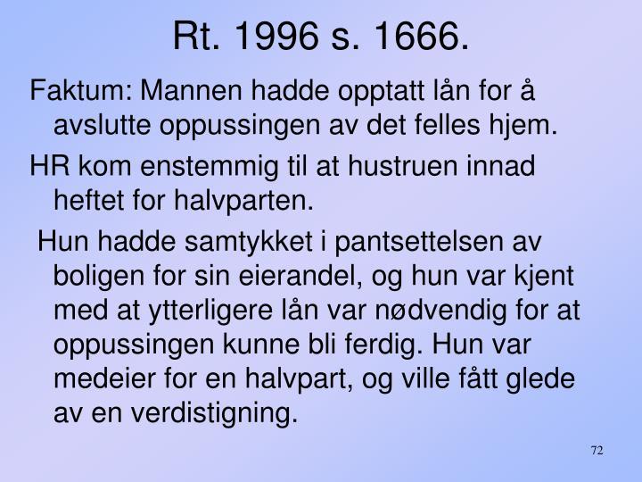 Rt. 1996 s. 1666.