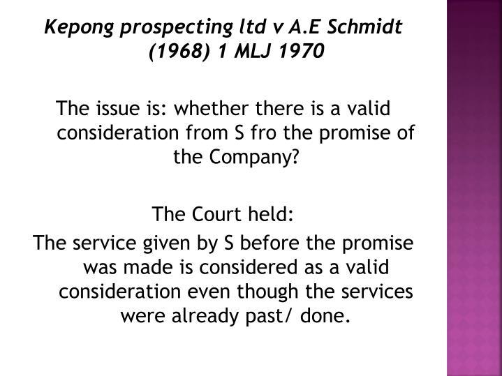 past consideration is valid consideration