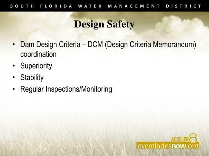Design Safety