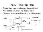 the d type flip flop