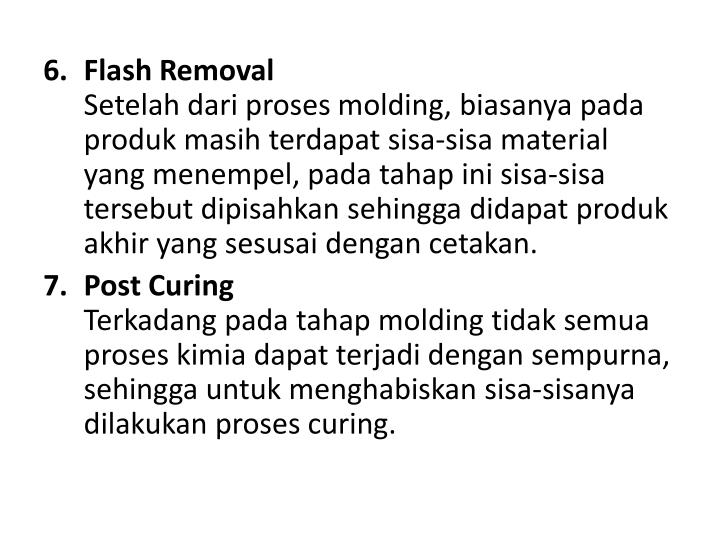 Flash Removal