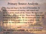 primary source analysis1