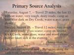 primary source analysis2