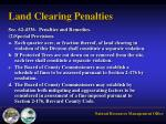 land clearing penalties1