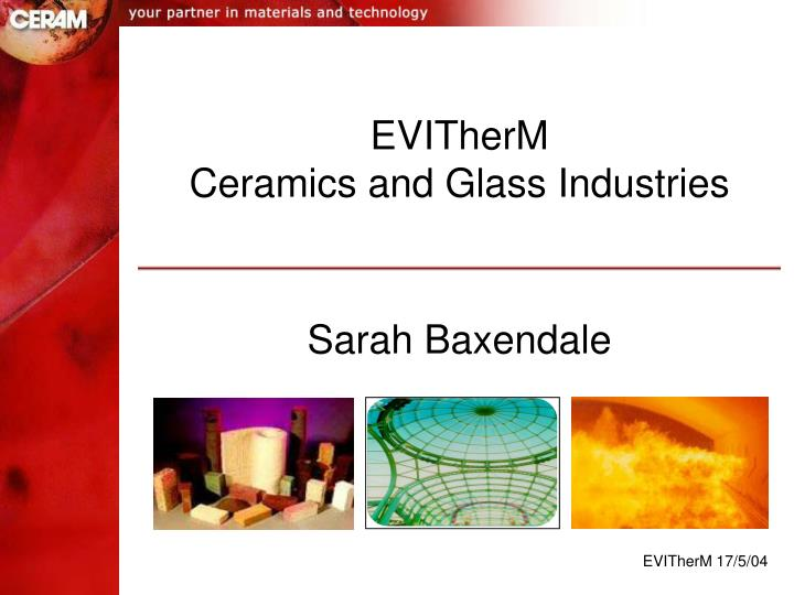 evitherm ceramics and glass industries n.