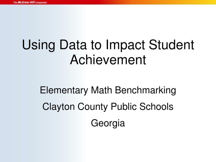 Elementary Math Benchmarking