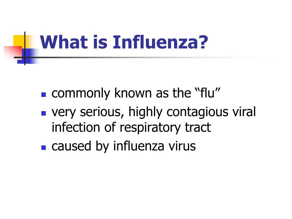PPT - Influenza Presentation PowerPoint Presentation, free ...