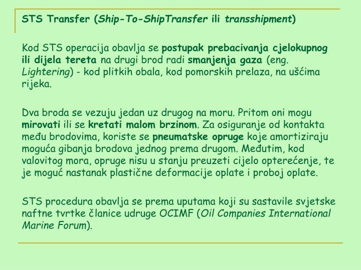 STS Transfer (