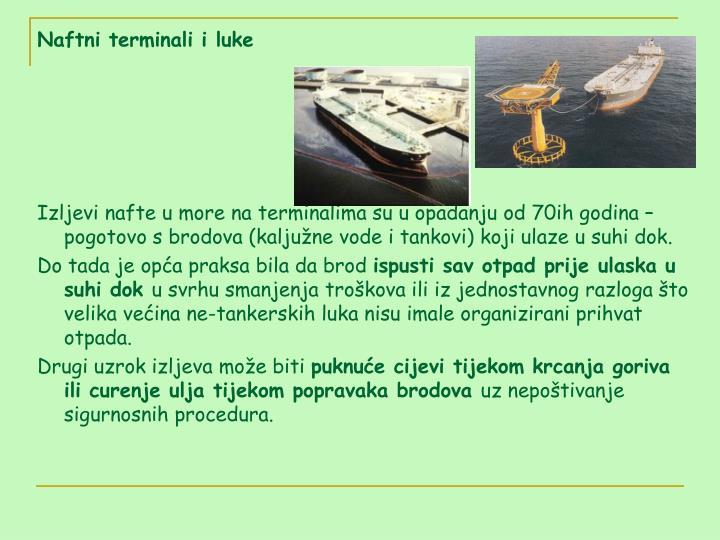 Naftni terminali i luke