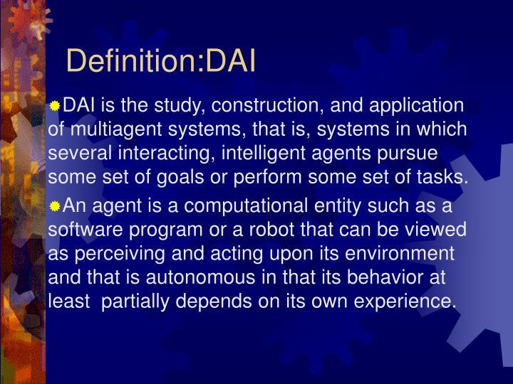 Definition:DAI