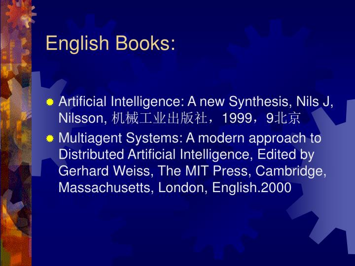 English Books: