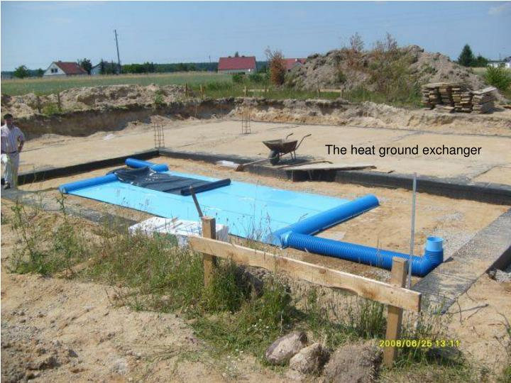 The heat ground exchanger