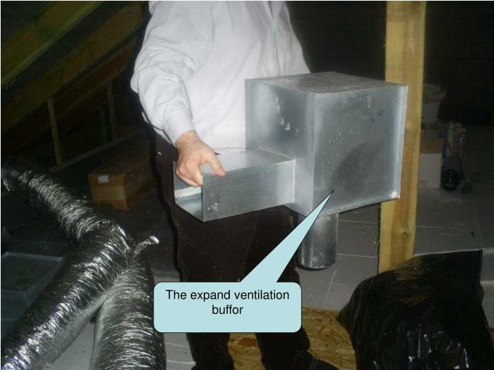 The expand ventilation buffor