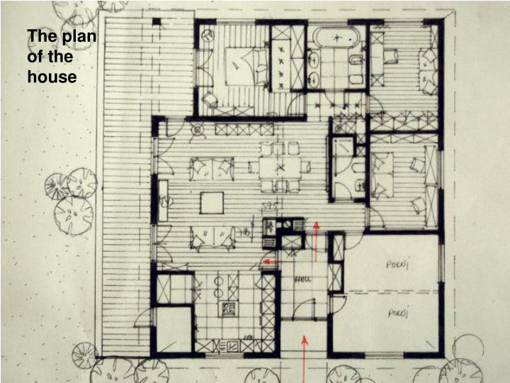 The plan of the house