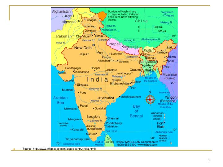 (Source: http://www.infoplease.com/atlas/country/india.html)