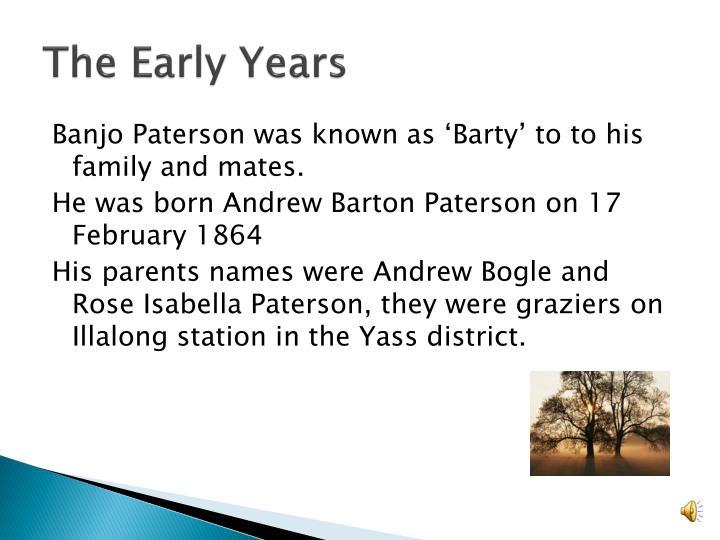 andrew barton paterson biography