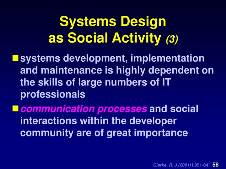 Systems Design