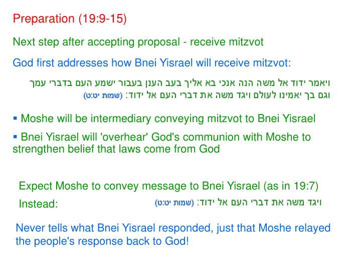Preparation (19:9-15)