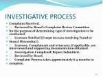 investigative process