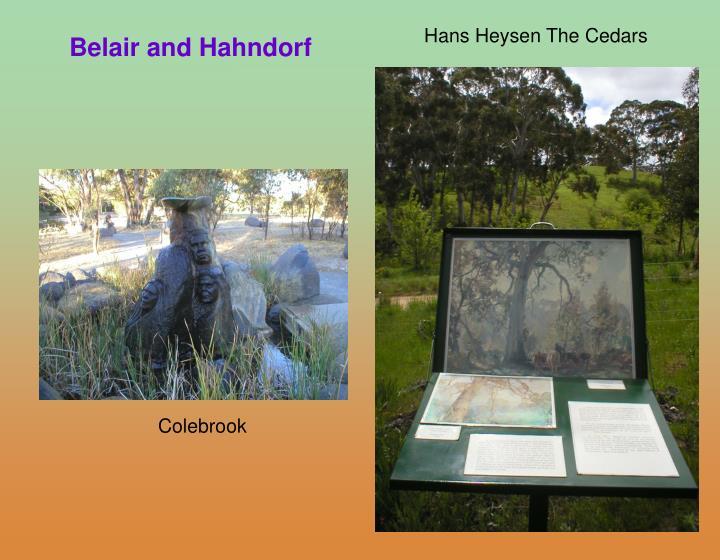 Hans Heysen The Cedars