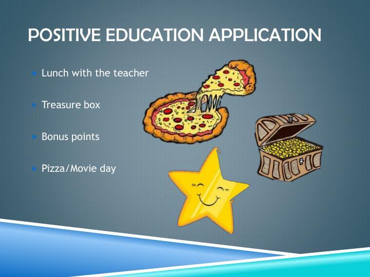 Positive Education application