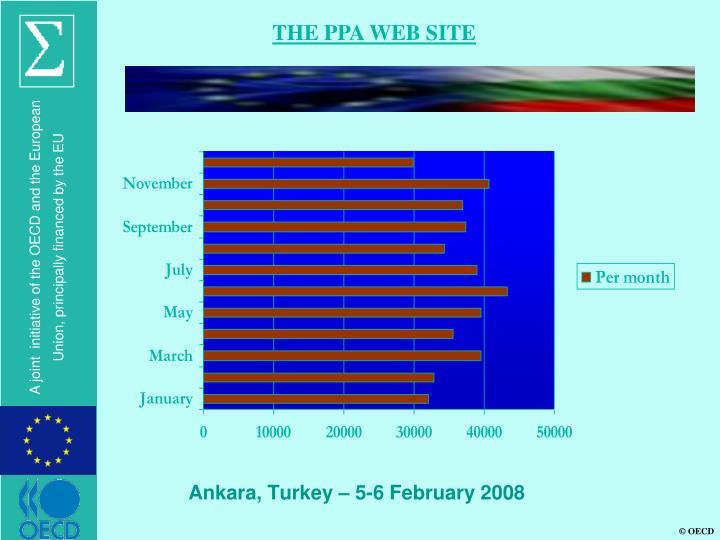 THE PPA WEB SITE