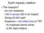 earth impacts medium3