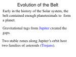 evolution of the belt