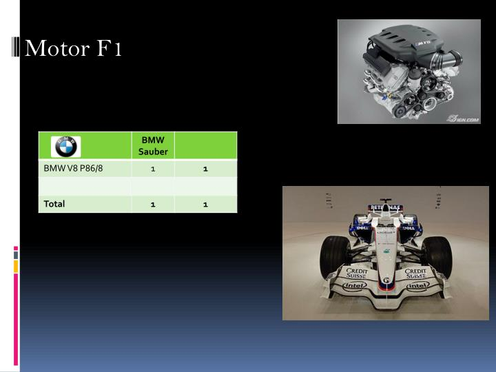 Motor F1