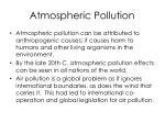 atmospheric pollution1