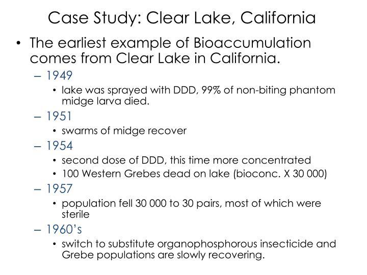 Case Study: Clear Lake, California
