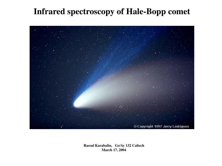 comet of the century from halley to halebopp