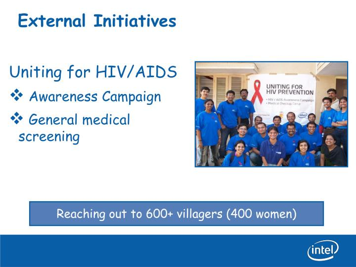 External Initiatives