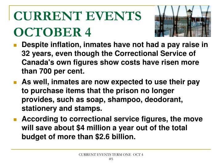 Current events october 41