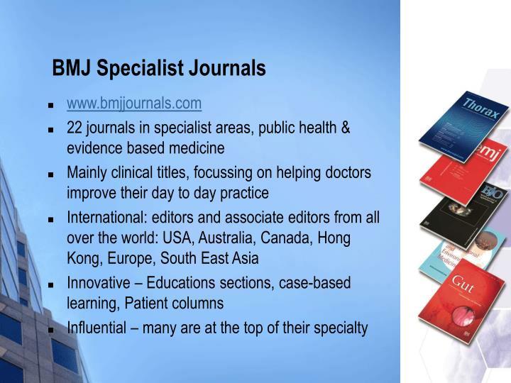 BMJ Specialist Journals