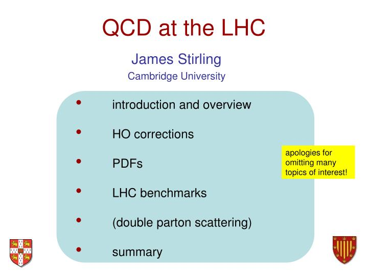 Qcd at the lhc
