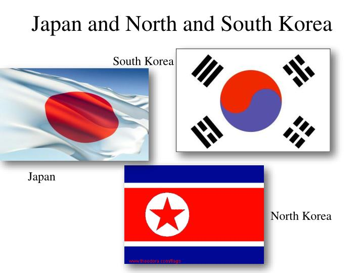 japan and north and south korea n.