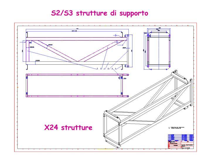 S2/S3 strutture di supporto