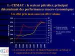 1 cemac le secteur p trolier principal d terminant des performances macro conomiques4