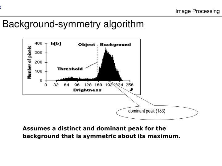 dominant peak (183)