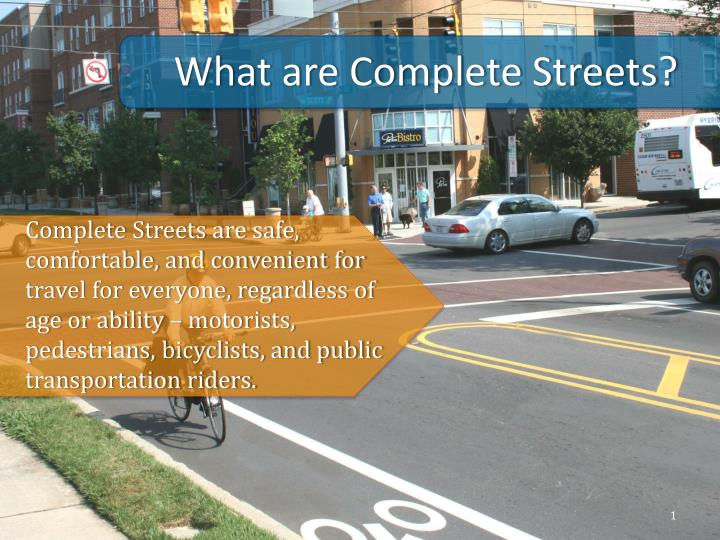 what are complete streets n.