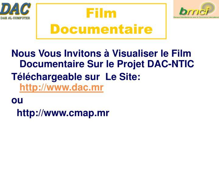 Film Documentaire