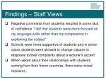 findings staff views2